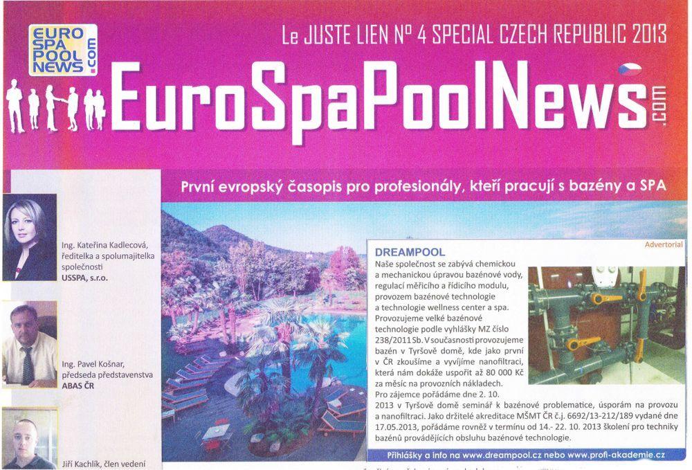 Euro Spa Pool News
